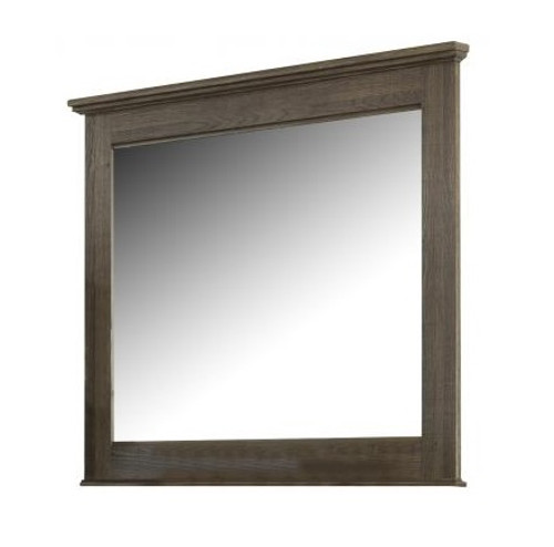 Rockport Distressed Brown Kids Mirror