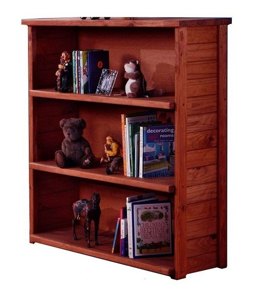 Jericho Mahogany Open Bookcase