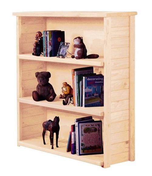 Duke Unfinished Open Bookcase