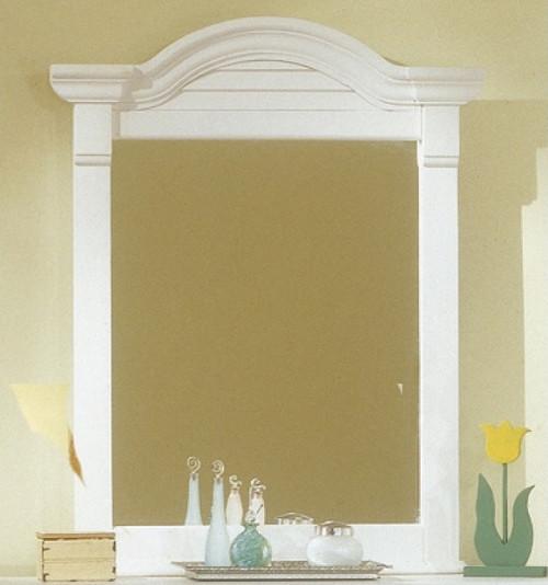 Seabrook Cottage White Vertical Mirror