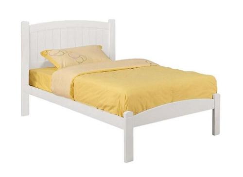Darla White Twin Bed