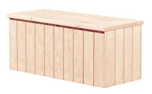 Duke Unfinished Wooden Storage Chest