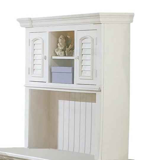 Seabrook Cottage White Desk Hutch