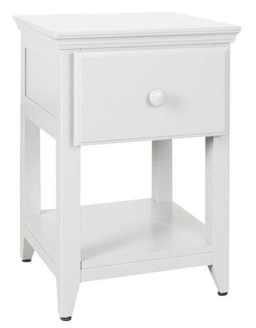 Chelsea White Nightstand