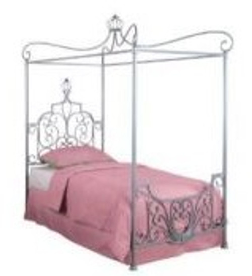 Clara's Twin Size Canopy Bed