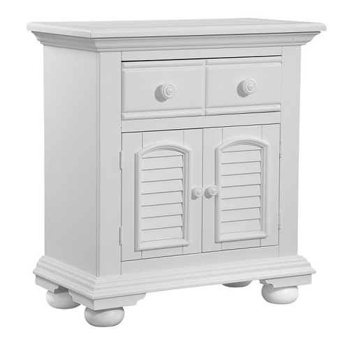 Seabrook Cottage White Door Nightstand