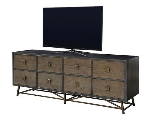 Martens Brown Driftwood TV Console