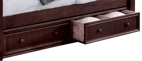 Heritage Walnut Underbed Storage Drawers