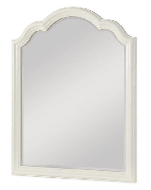 Imagine Antique White Mirror