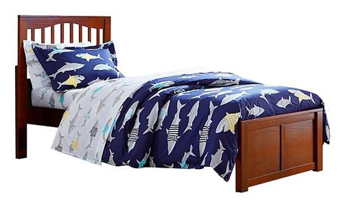 Larkin Cherry Twin XL Mission Bed
