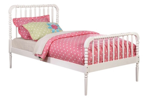 Jenny Lind Twin Size Bed White