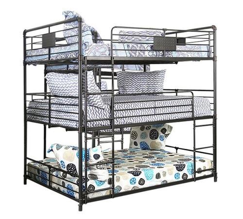 Reston Metal Triple Full Bunk Bed