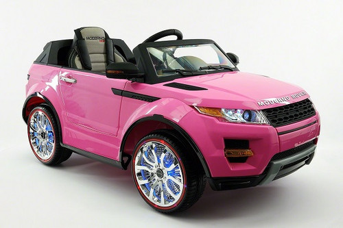 Rover Kids Ride-On Electric Car Pink