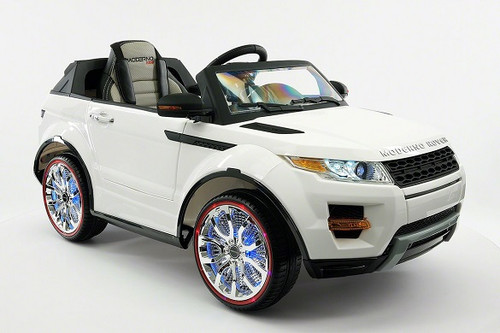 Rover Kids Ride-On Electric Car White