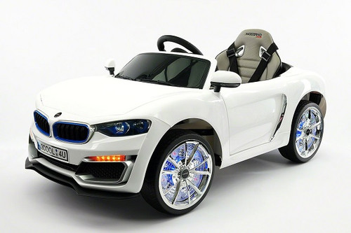 BMW Style Kids Ride-On Electric Car White