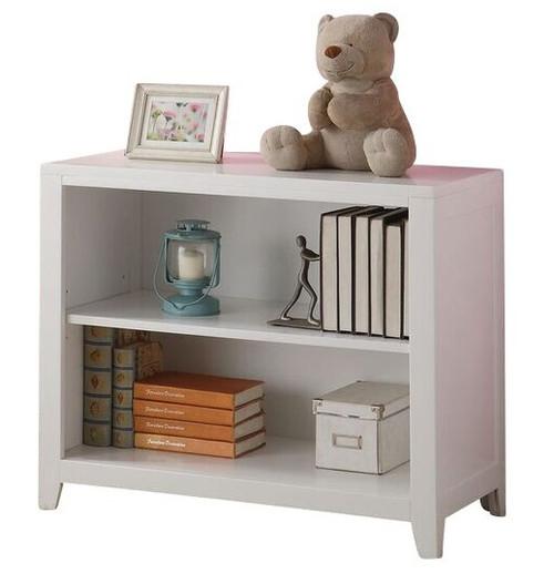 Trixie White 2 Shelf Bookcase