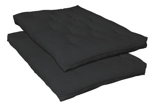 South Bank Black Full Size Futon Mattress
