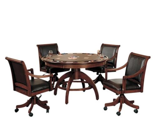 Carrington 5 Piece Game Table & Chair Set