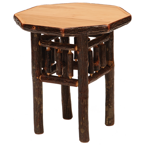 Whistler Octagon Nightstand Traditional Hickory