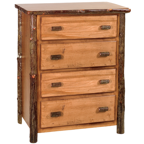 Whistler Four Drawer Chest Traditional Hickory