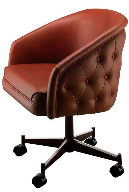 Miss Kitty Crimson Club Chair Red