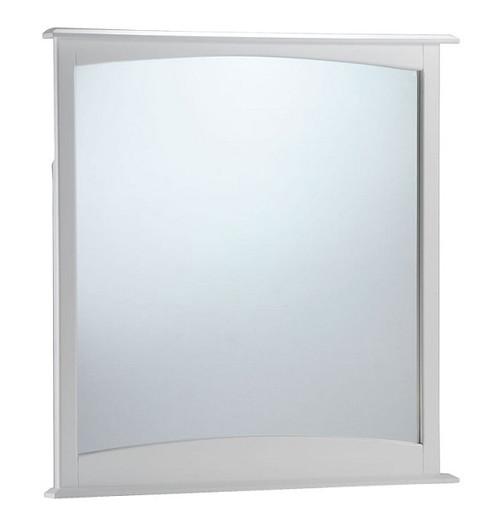 Hollywood White Vertical Mirror