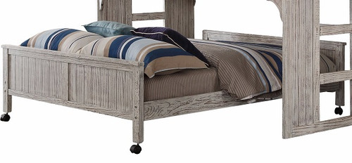 Chanse's Brushed Driftwood Bottom Full Size Playhouse Bed