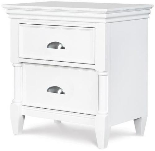 Moxy Drawer Nightstand White