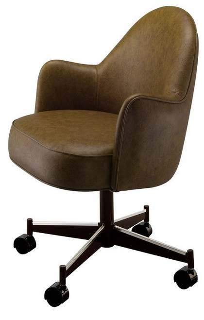 Rutherford Club Chair Brown