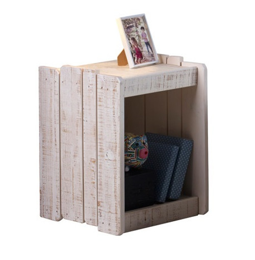 Tanner Nightstand Rustic Sand