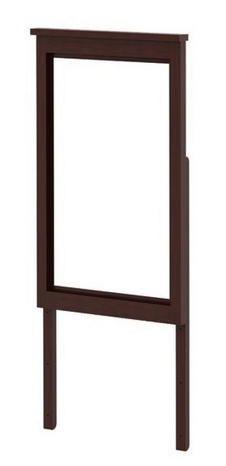 Silas Espresso Tall Mirror