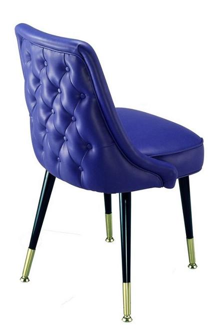 DeSoto Club Chair Blue