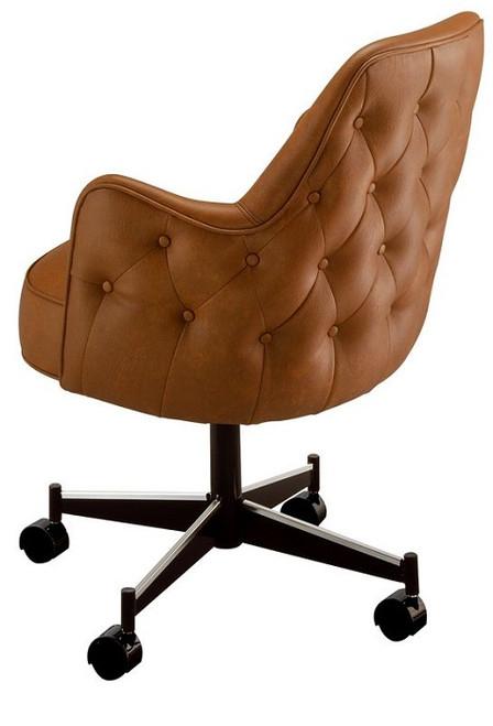 Dickinson Club Chair Brown
