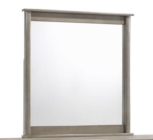 Endicott Rubbed Gray Tall Mirror