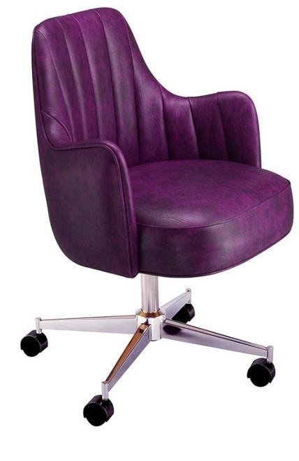 Wyman Club Chair Purple
