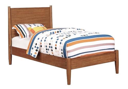 Mame Oak Twin Platform Bed