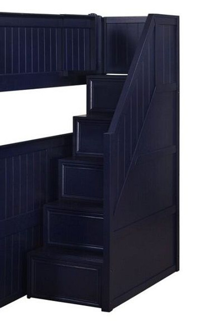 Annapolis Blue Bunk Bed Stairs