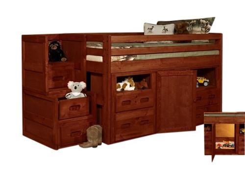 Harley Cocoa Secret Hideout Kids Loft Bed