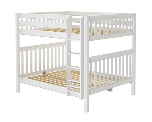 Lily White Queen over Queen Bunk Bed