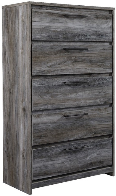 Chesire Five Drawer Chest Smoky Grey