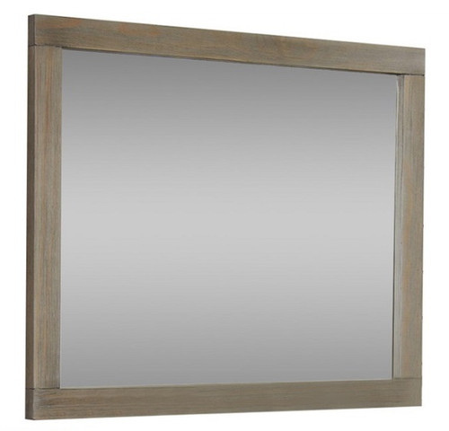Crosspointe Driftwood Rectangle Mirror