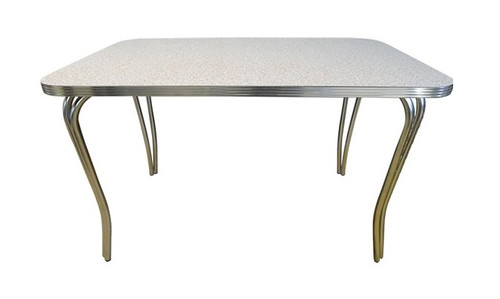 Queen for a Day Retro Dining Table Rectangle 30x48