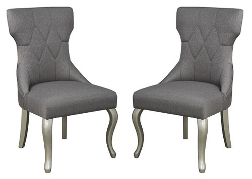 Moira Set of 2 Upholstered Side Chairs