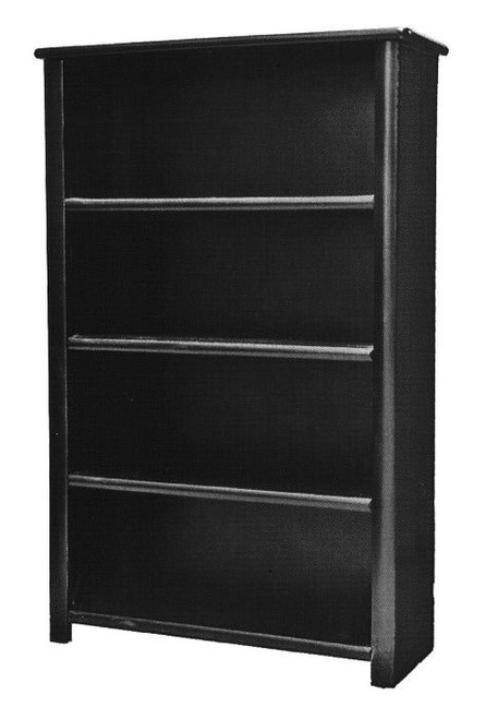 McCormick Road Black Cherry Bookcase