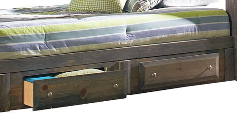 Carmichael Gray Under Bed Storage Drawers