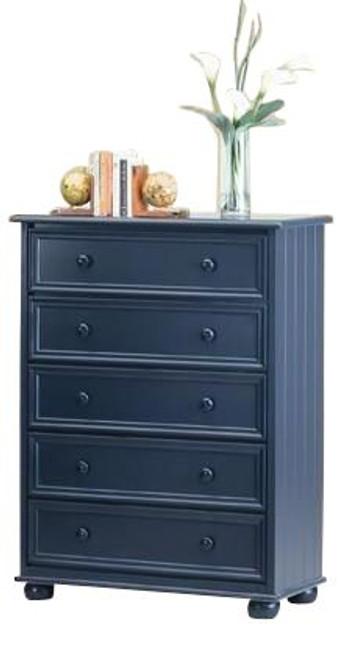 Annapolis Blue 5 Drawer Chest