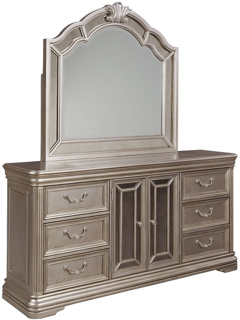 Margaery Mirror Silver with matching dresser