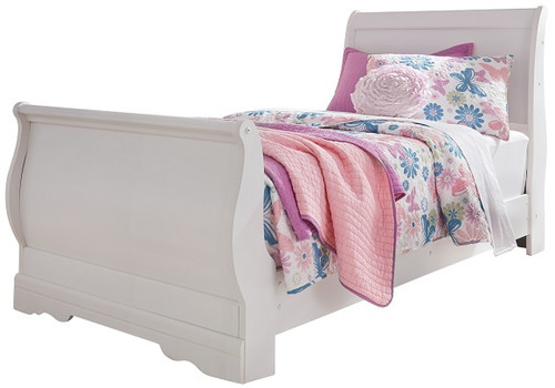 Marcello Twin Size Sleigh Bed