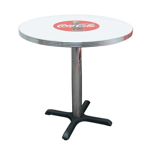 Coke Round Diner Table