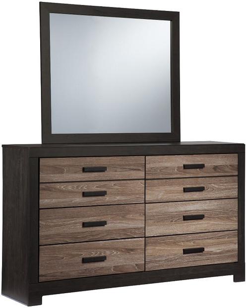 Graham Mirror shown with Optional Dresser